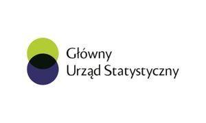 Logo GUS z napisem Główny Urząd Statystyczny