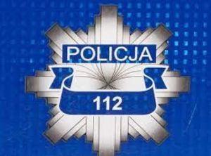 Odznaka Policyjna z numerem telefonu 112