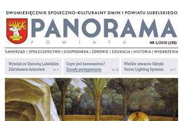 Część okładki Panoramy Powiatu NR 1/2020 (188)