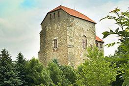 Zdjęcie przedstawia Wieże Ariańską Wojciechów