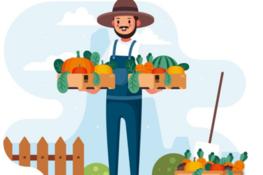 obrazek rolnika graficzny