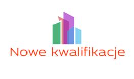 na zdjęciu znajduje się napis Nowe Kwalifikacje i logo projektu