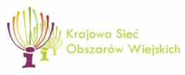 logo i napis krajowa sieć obszarów wiejskich