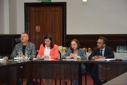 na zdjęciu znajdują się uczestnicy spotkania