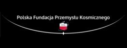 logo i napis polska fundacja przemysłu kosmicznego