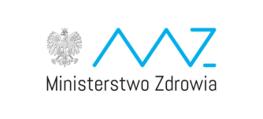 logo i napis Ministerstwo Zdrowia