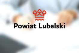 logo napis powiat lubelski