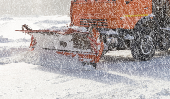 Odśnieżanie śniegu