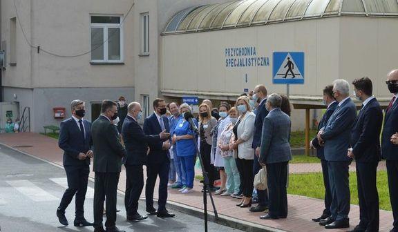 Premier Mateusz Morawiecki z wizytą w Rykach