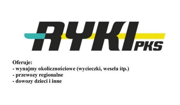 Napis PKS RYKI