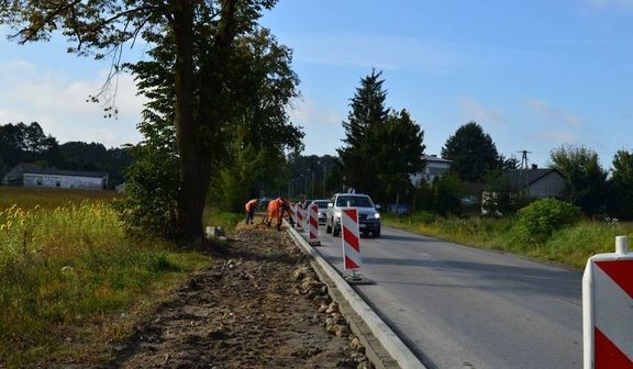 Budowa chodnika