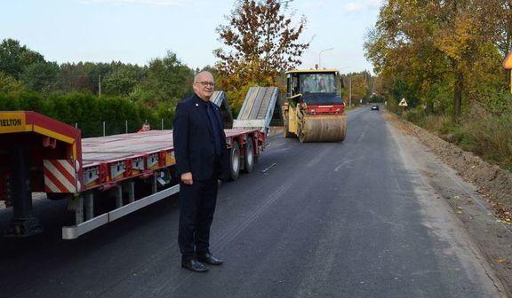 Przebudowa drogi powiatowej Nr 1434L