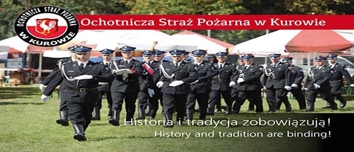 """Album """"Ochotnicza Straż Pożarna w Kurowie. Historia i tradycja zobowiązują"""""""
