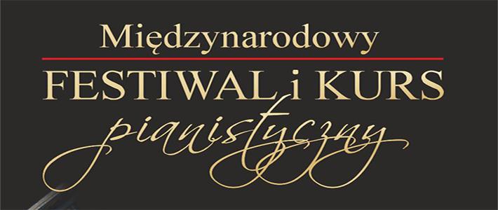 XIX Międzynarodowy Festiwal i Kurs Pianistyczny w Nałęczowie