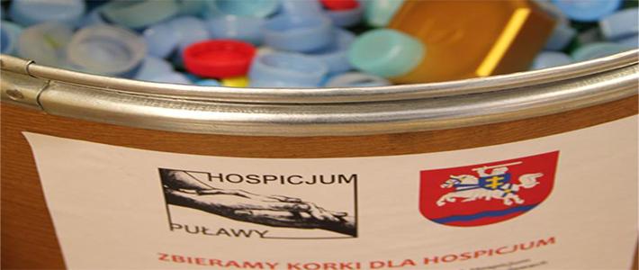 Zbieramy korki dla hospicjum
