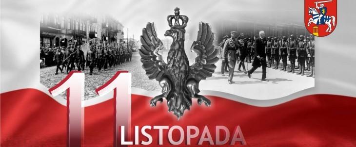 Uroczyste obchody ŚWIĘTA 11 LISTOPADA w Powiecie Puławskim