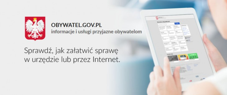 Portal dla obywateli – informacje o usługach administracyjnych