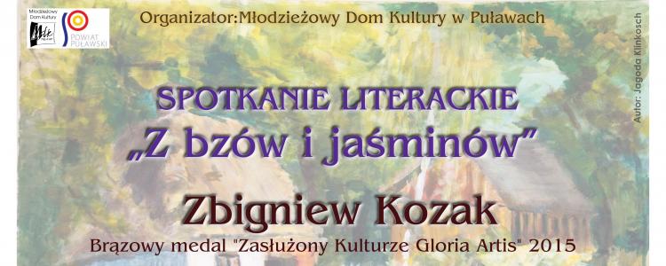 """Spotkanie literackie """"Z bzów i jaśminów"""""""