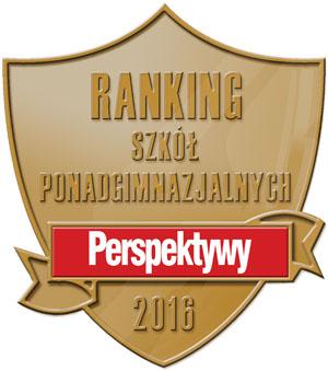 Wysokie lokaty szkół powiatowych w rankingach Perspektyw