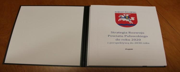 Konsultacje społeczne projektu Strategii Rozwoju Powiatu Puławskiego do roku 2020 z perspektywą do 2030 roku - przypomnienie
