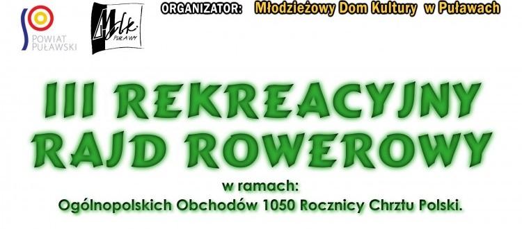 III Rekreacyjny Rajd Rowerowy