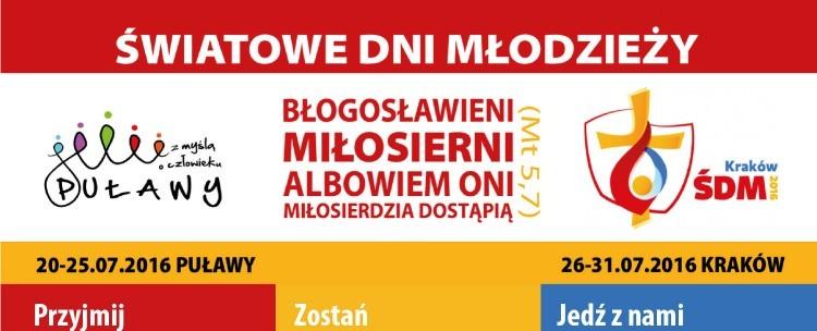 Światowe Dni Młodzieży Puławy – Kraków 2016