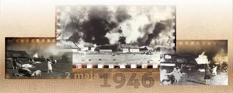 70. rocznica pacyfikacji i spalenia Wąwolnicy przez siły Urzędu Bezpieczeństwa 2 maja 1946 roku