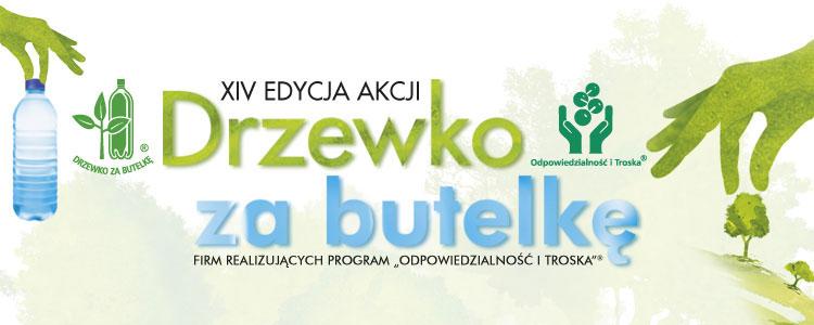 """Trwa XIV edycja akcji """"Drzewko za butelkę""""®"""