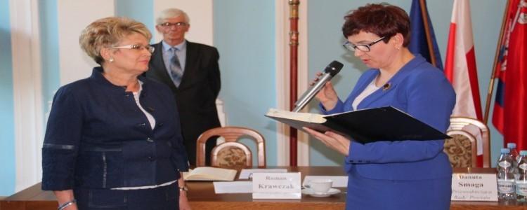 Ewa Dobraczyńska nową radną Powiatu Puławskiego