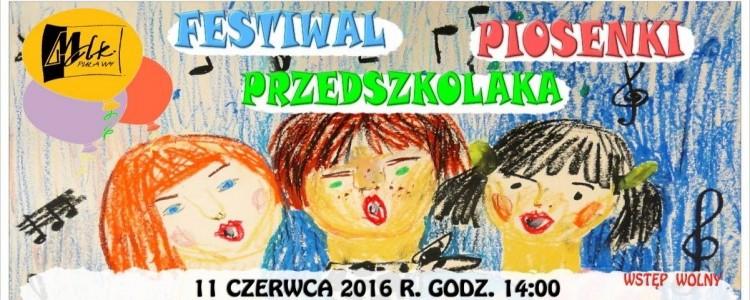 Festiwal Piosenki Przedszkolaka