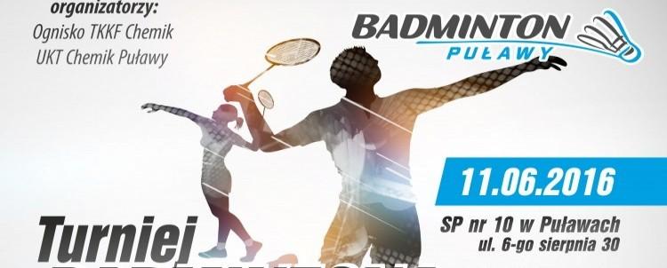 Turniej Badmintona z okazji Dnia Chemika - III Turniej GRAND PRIX LUBELSZCZYZNY