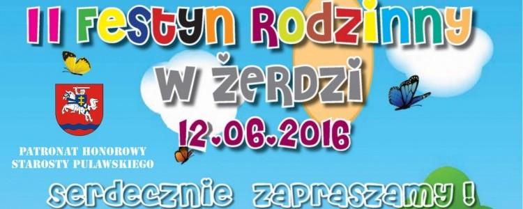 II Festyn Rodzinny w Żerdzi