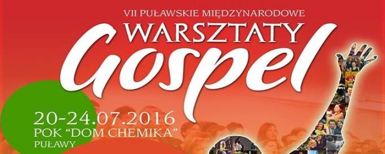 Ruszyły zapisy na VII Puławskie Międzynarodowe Warsztaty GOSPEL