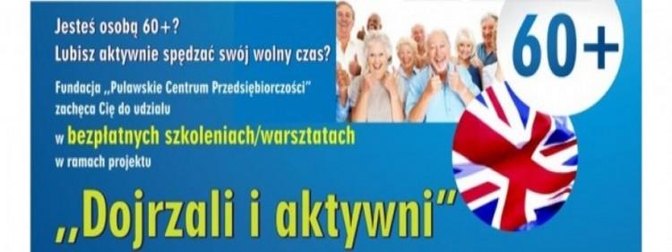 """Projekt """"Dojrzali i aktywni"""""""