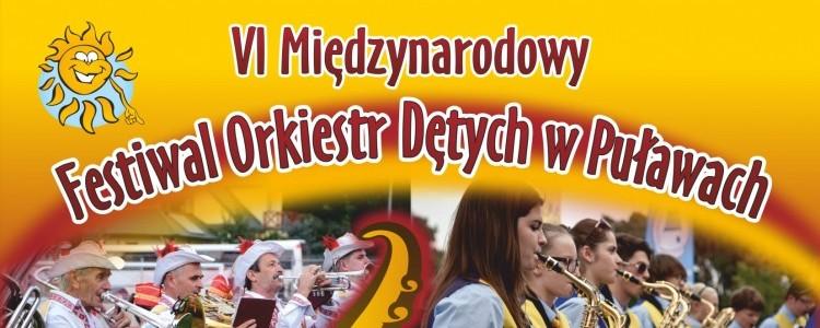VI Międzynarodowy Festiwal Orkiestr Dętych w Puławach 9 - 11 września 2016 r.