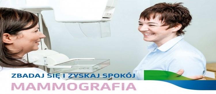 Październik miesiącem walki z rakiem piersi!  Zbadaj się w mammobusie!
