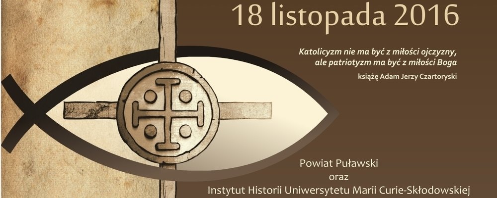 Powiat Puławski wraz z Instytutem Historii UMCS w Lublinie organizatorami konferencji naukowej