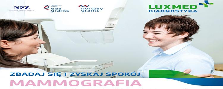 Bezpłatne badania w mammobusie - Góra Puławska
