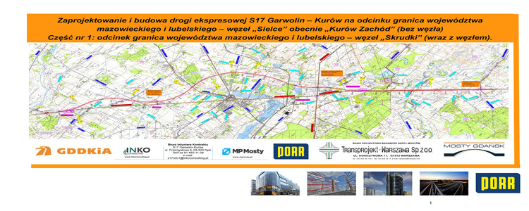 Zaprojektowanie i budowa drogi ekspresowej S17 Garwolin – Kurów