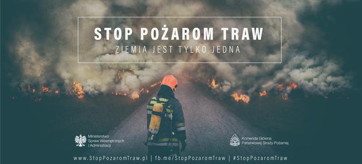 """""""Stop pożarom traw""""!"""
