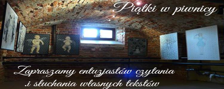 """Spotkanie literackie """"Piątki w piwnicy"""""""