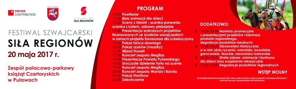 """Zapraszamy na """"Festiwal Szwajcarski - Siła Regionów"""""""