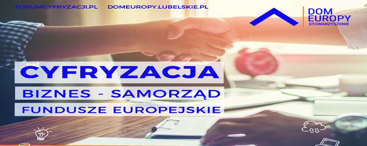 Konferencja Cyfryzacja. Biznes-Samorząd - Fundusze Europejskie