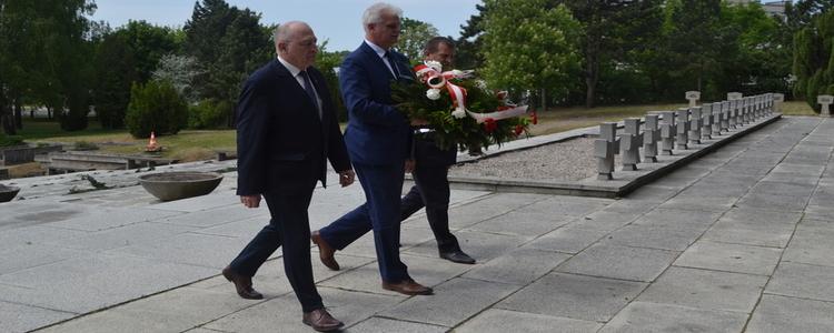 73. rocznica zakończenia II Wojny Światowej w Puławach
