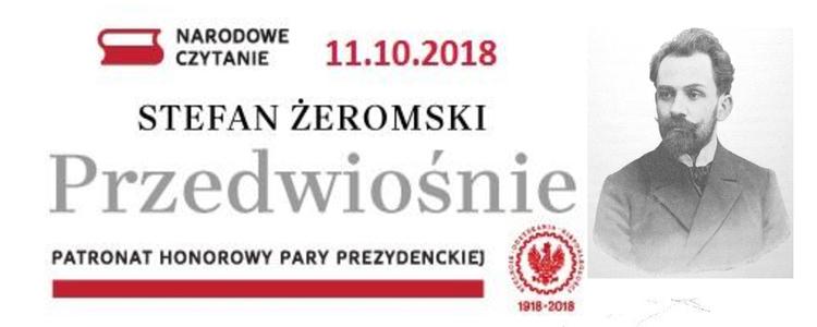 Narodowe Czytanie Przedwiośnia Stefana Żeromskiego w Kęble