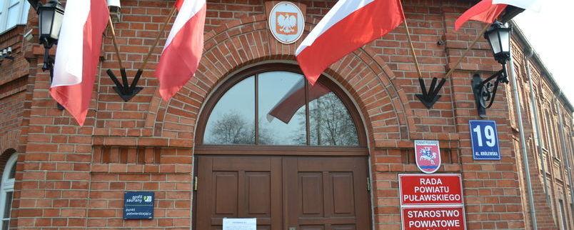 I sesja  Rady Powiatu Puławskiego wybranej w głosowaniu 21 października 2018 roku