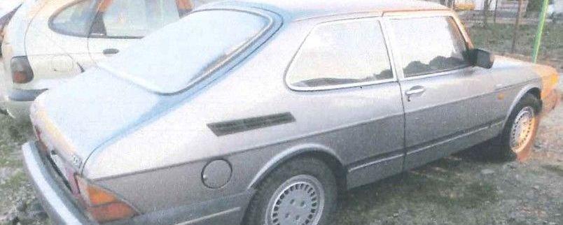 Obwieszczenie o II przetargu na sprzedaż samochodu SAAB 900i