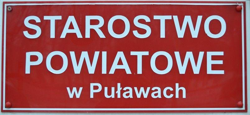 Informacja o zmianie dni pracy Starostwa Powiatowego w Puławach w kwietniu i maju 2019 r.