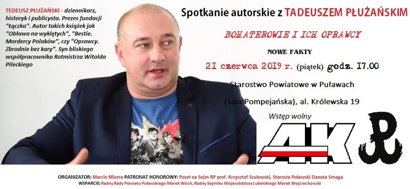 Tadeusz Płużański - plakat