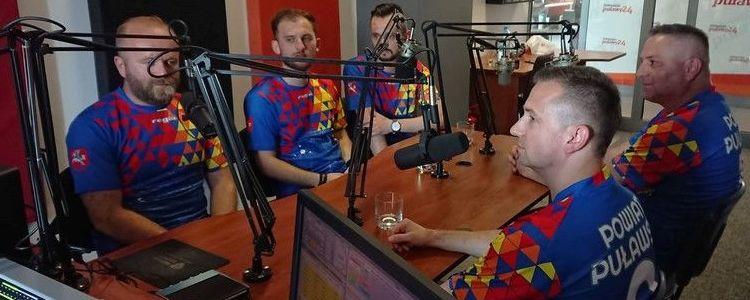Nagranie w Radio Puławy 24